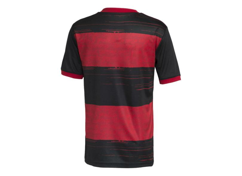 Camisa Torcedor Infantil Flamengo I 2020/21 Adidas