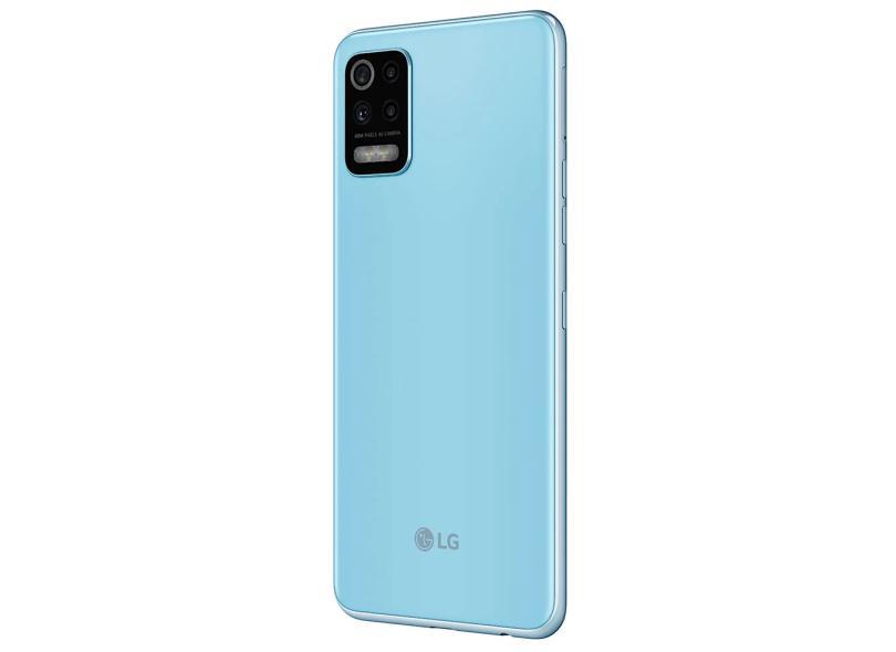 Smartphone LG K62 Plus LMK525BMW 128GB Câmera Quádrupla 2 Chips Android 10