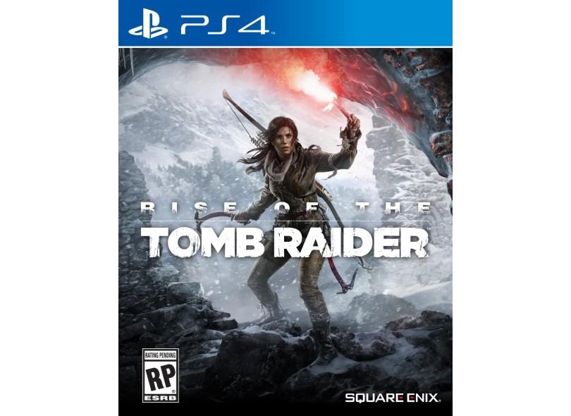 Jogo Rise of the Tomb Raider PS4 Square Enix