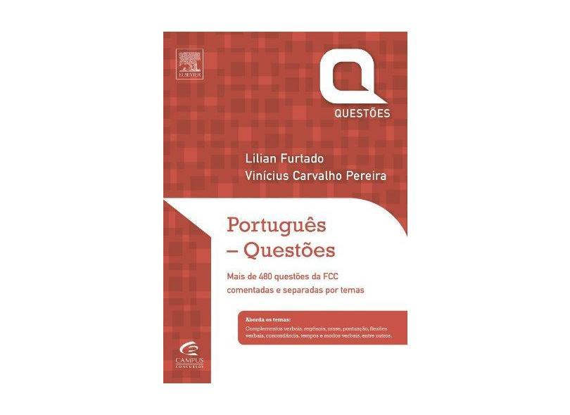 Português- Questões da Fcc - Col. Questões - Furtado, Lilian - 9788535277685