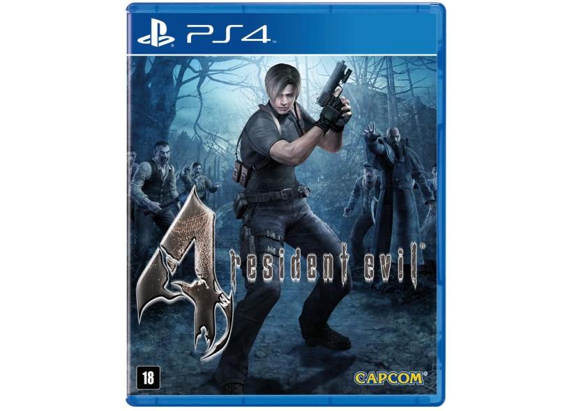 Jogo Resident Evil 4 PS4 Capcom