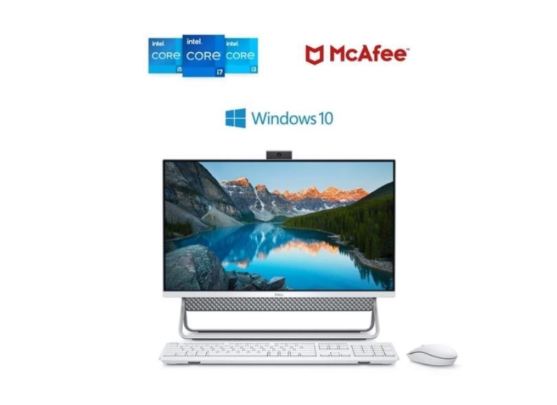 """All in One Dell Inspiron Intel Core i5 8 GB 256 GB Intel Iris Graphics 23.8 """" Windows 10 Home Inspiron 24 5000"""