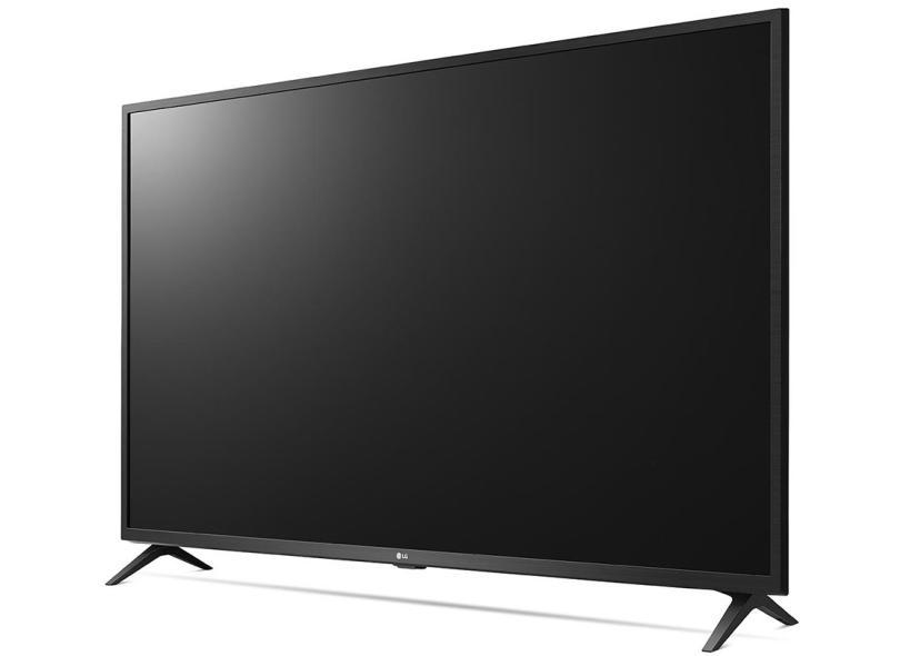 "Smart TV TV LED 55 "" LG ThinQ AI 4K HDR 55UN7310PSC 3 HDMI"