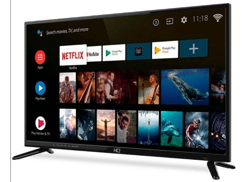 """Smart TV TV LED 58 """" HQ HQSTV58NY 2 HDMI"""