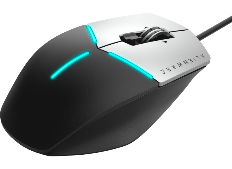 Mouse Óptico Gamer USB Alienware Advanced AW558 - Dell