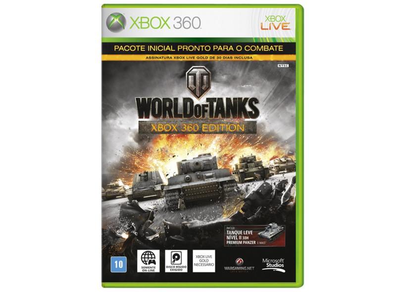 Jogo World of Tanks Xbox 360 Microsoft