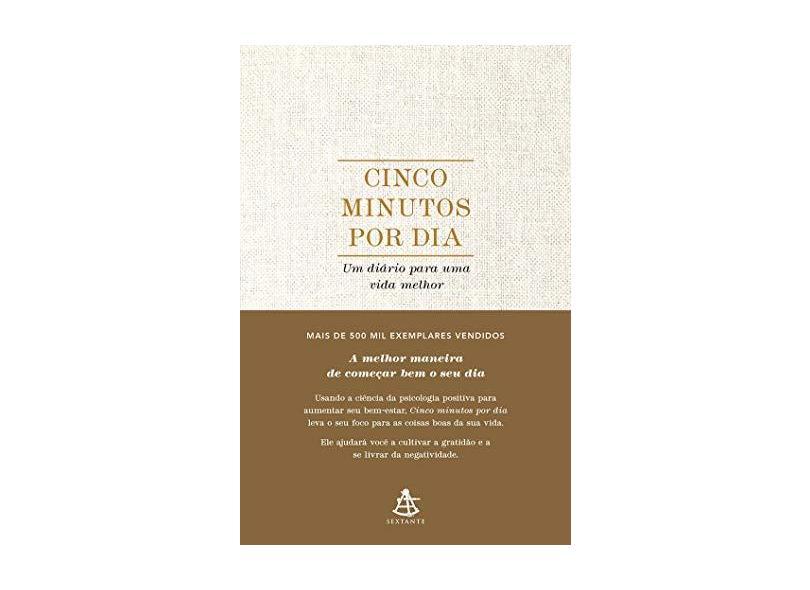 Cinco minutos por dia: Um diário para uma vida melhor - Alex Ikonn - 9788543106748