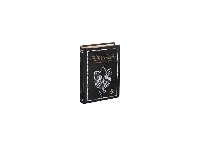 A Bíblia da Mulher - Revista e Corrigida - Luxo Preta - Almeida, João Ferreira De; - 7899938400999