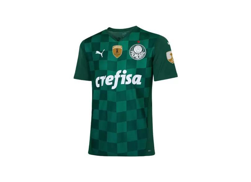 Camisa Torcedor Palmeiras I 2021/22 Puma
