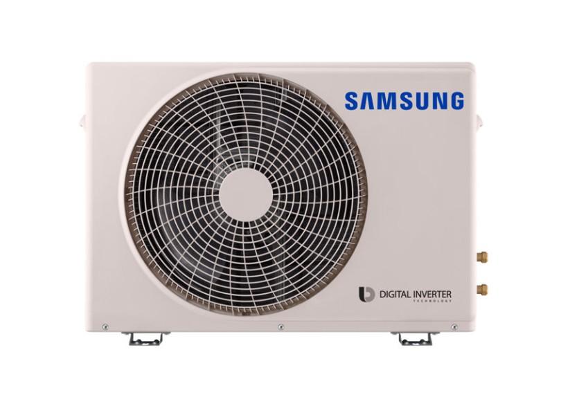 Ar Condicionado Split Hi Wall Samsung 12000 BTUs Inverter Controle Remoto Quente/Frio AR12MSSPBGMNAZ