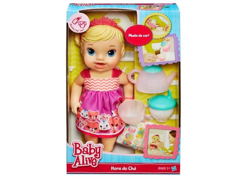 Boneca Baby Alive Hora do Chá Hasbro
