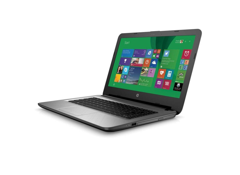 "Notebook HP Intel Core i7 6500U 8 GB de RAM HD 1 TB LED 14 "" Windows 10 Home 14-AC121BR"
