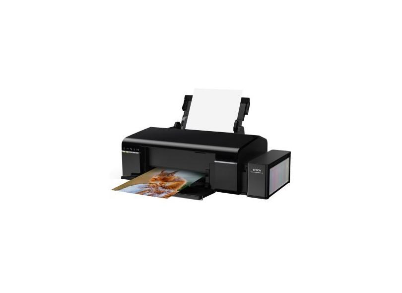 Impressora Epson Ecotank L805 Tanque de Tinta Colorida Sem Fio