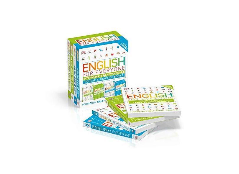 English for Everyone Slipcase: Intermediate and Advanced - Dk - 9781465475602