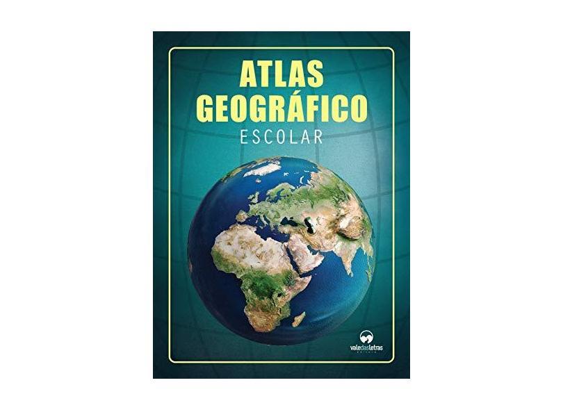 Atlas Escolar Geografico - Capa Comum - 9788576618348
