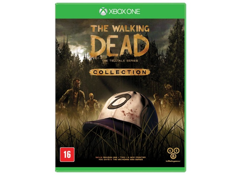 Jogo The Walking Dead The Telltale Series Collection Xbox One Telltale