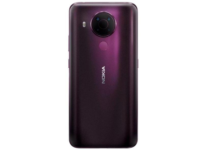 Smartphone Nokia 5.4 NK02 4 GB 128GB Câmera Quádrupla Android 10