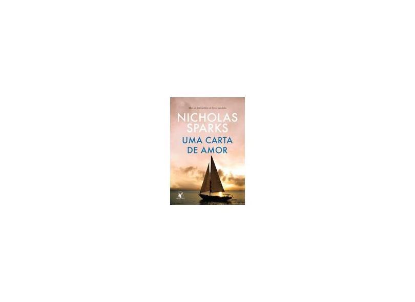 Carta de Amor, Uma - Capa Nova - Nicholas Sparks - 9788580416886