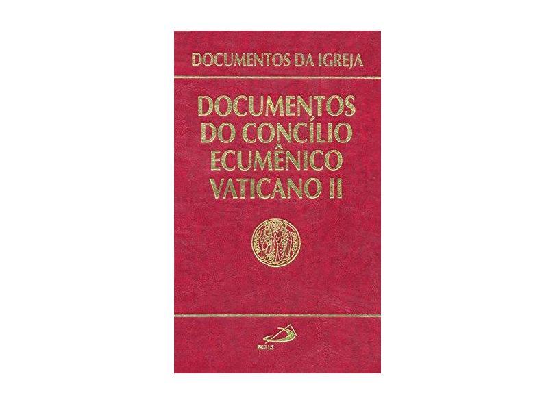 Documentos do Concílio Ecumênico Vaticano II - Concílio Ecumênico Vaticano Ii - 9788534909433