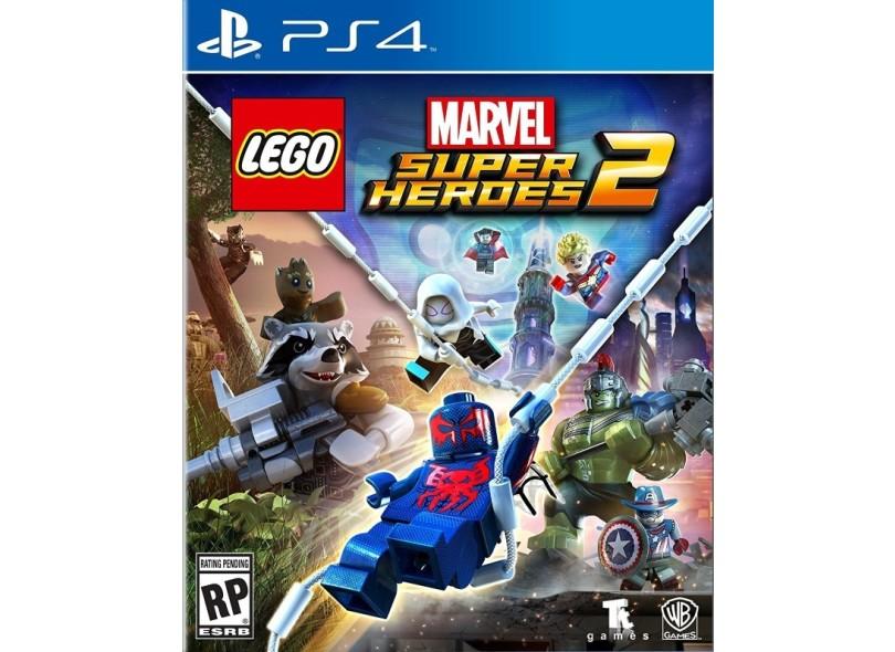 Jogo Lego Marvel Super Heroes 2 PS4 Warner Bros