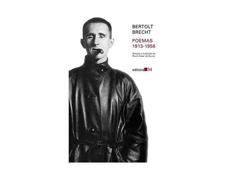 Poemas 1913-1956 Bertolt Brecht - Capa Comum - 9788573261608