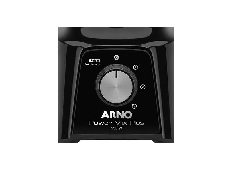Liquidificador Arno Power Mix Plus 2 l 3 Velocidades 550 W