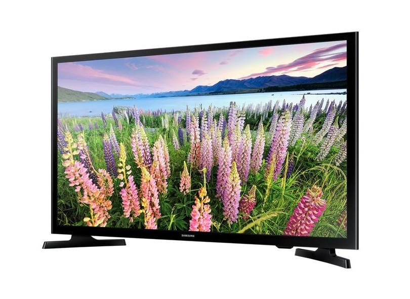 "Smart TV TV LED 49 "" Samsung Série 5 Full UN49J5200"