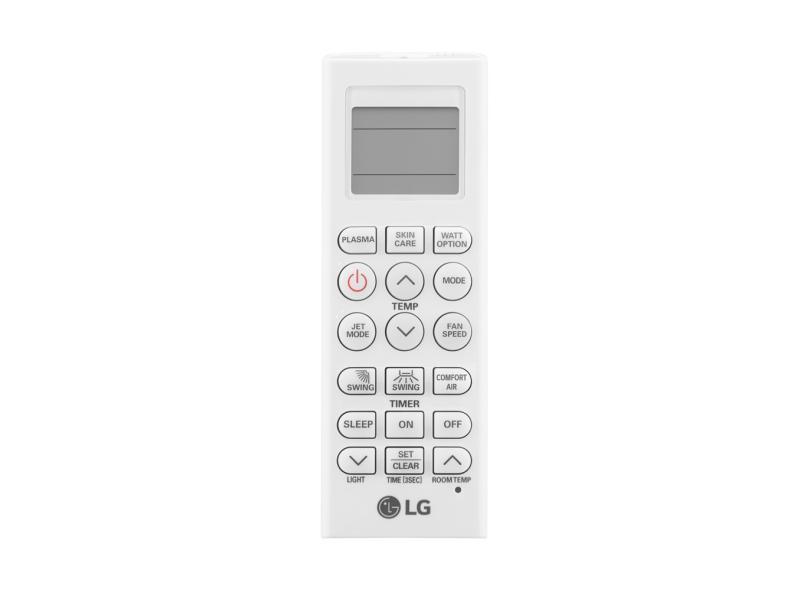 Ar Condicionado Split Hi Wall LG Dual Inverter Voice 18000 BTUs Inverter Controle Remoto Quente/Frio S4-W18KL31A