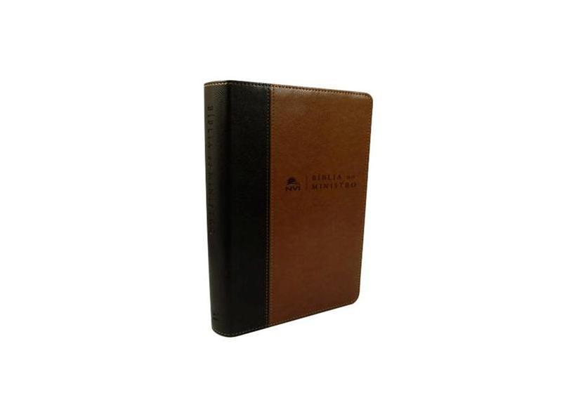 Bíblia do Ministro. Marrom Claro e Escuro - Vários Autores - 9788000002972