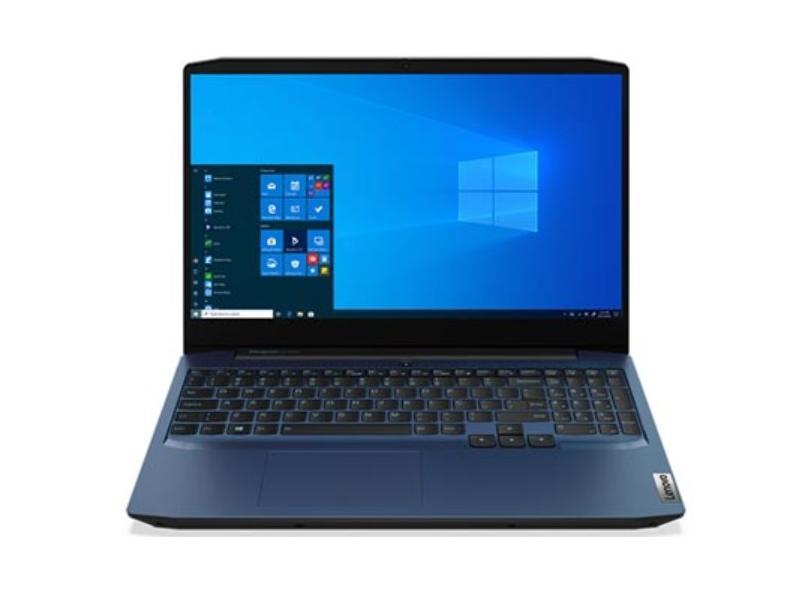 """Notebook Gamer Lenovo IdeaPad 3i Intel Core i5 10300H 10ª Geração 8.0 GB de RAM 256.0 GB 15.6 """" Full GeForce GTX 1650 Windows 10 82CG0002BR"""