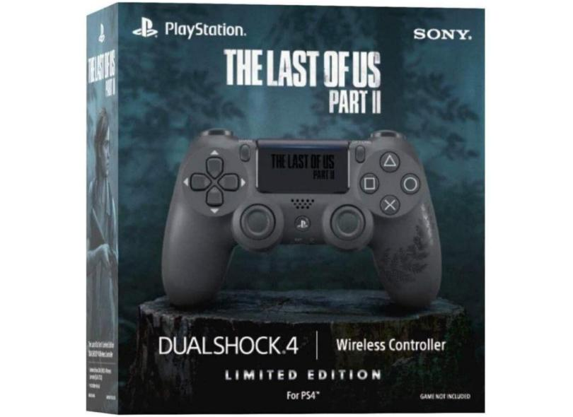Controle PS4 sem Fio Dualshock 4 / Limited Edition The Last Of Us Part II - Sony