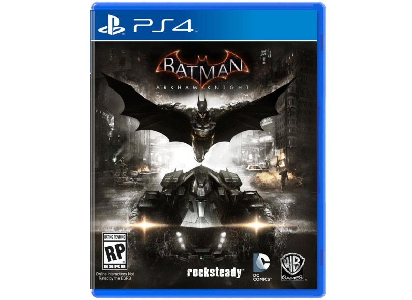 Jogo Batman PS4 Warner Bros