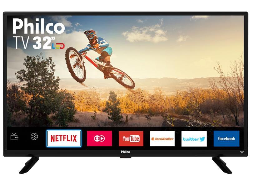 "Smart TV TV LED 32 "" Philco Netflix PTV32G50SN 2 HDMI"