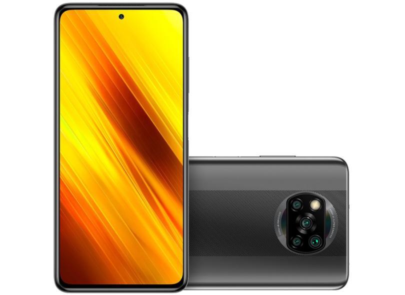 Smartphone Xiaomi Pocophone Poco X3 NFC 64GB 64.0 + Câmera Quádrupla 2 Chips Android 10