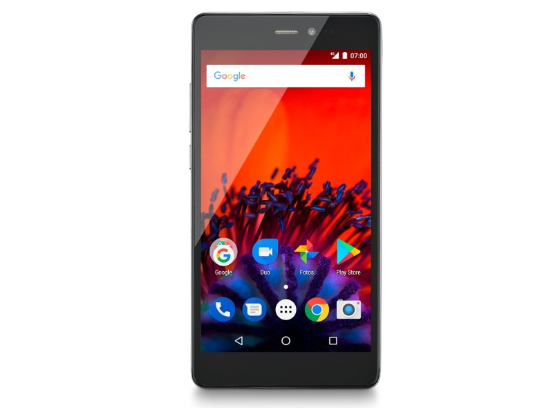 Smartphone Multilaser MS60F 16GB 8,0 MP 2 Chips Android 7.0 (Nougat) 3G Wi-Fi