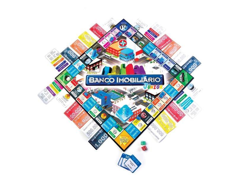Jogo Novo Banco Imobiliário Junior Estrela