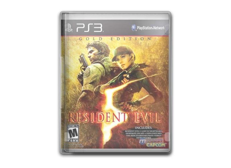 Jogo Resident Evil 5 Capcom PS3