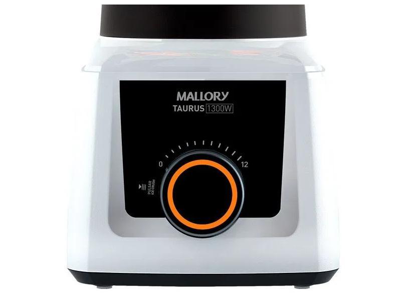 Liquidificador Mallory Taurus Glass 2,3 Litros 12 Velocidades 1.300 W