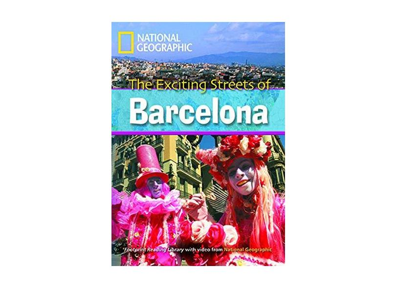 Footprint Reading Library - Level 7 2600 C1 - Exciting Streets Of Barcelona - British English + Multirom - Waring,rob - 9781424022168