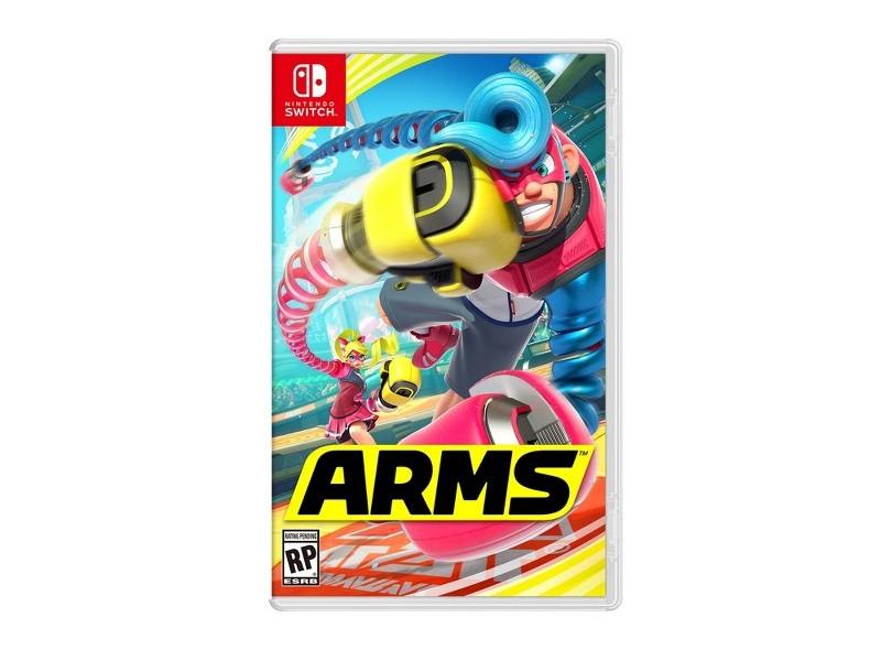 Jogo ARMS Não possui Nintendo Nintendo Switch