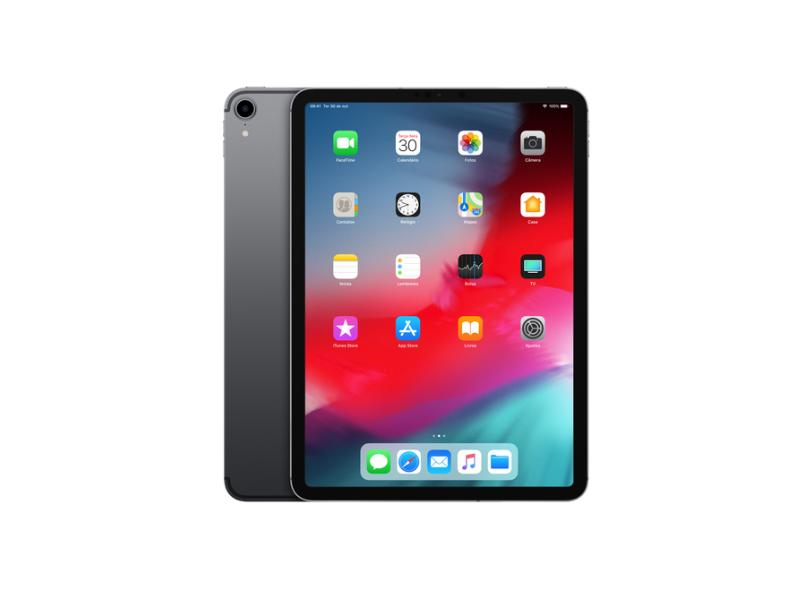 "Tablet Apple iPad Pro 3ª Geração Apple A12X Bionic 256GB Retina 11"" 12 MP"