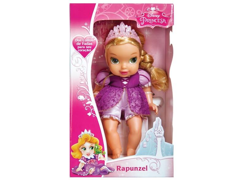 Boneca Princesas Disney Baby Princesas Soft Doll Rapunzel Mimo