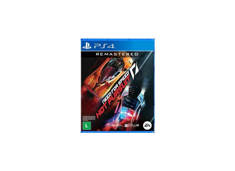 Pré-venda Jogo Need for Speed Hot Pursuit Remastered PS4 EA