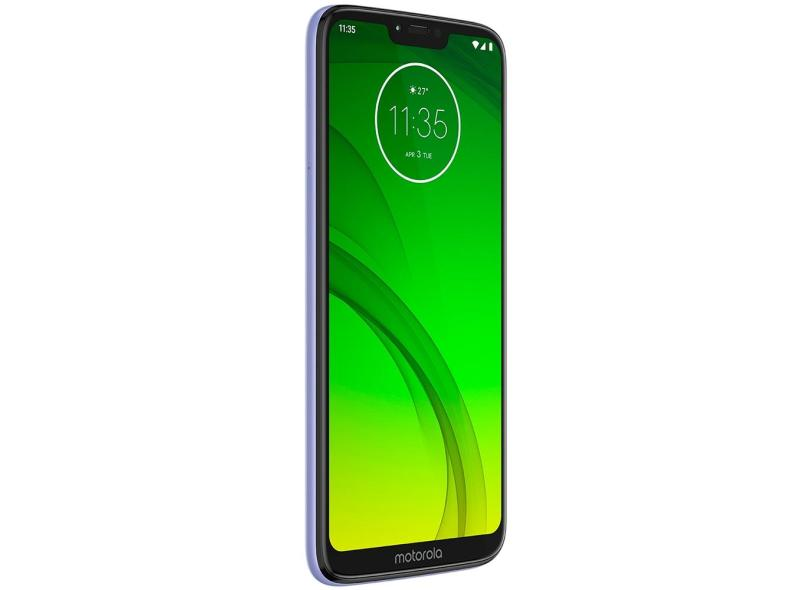 Smartphone Motorola Moto G G7 Power XT1955-1 4GB RAM TV Digital 64GB Qualcomm Snapdragon 632 12,0 MP 2 Chips Android 9.0 (Pie) 3G 4G Wi-Fi