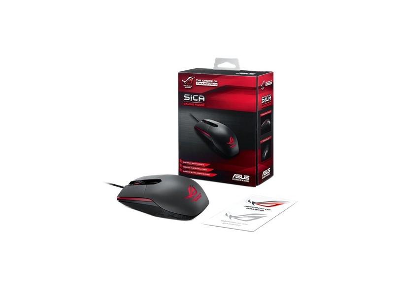 Mouse Óptico Gamer USB ROG Sica - Asus
