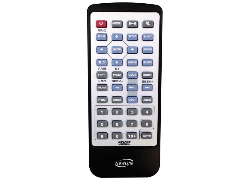 """DVD Player Automotivo New Link 3"""" USB SA103"""