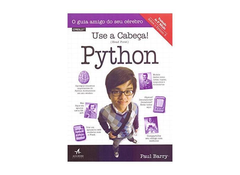 Use a Cabeça! Python - Barry - 9788550803401