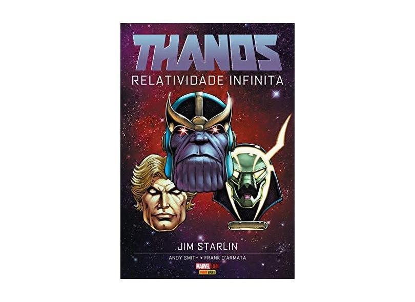 Thanos - Relatividade Infinita - Starlin, Jim - 9788583682448