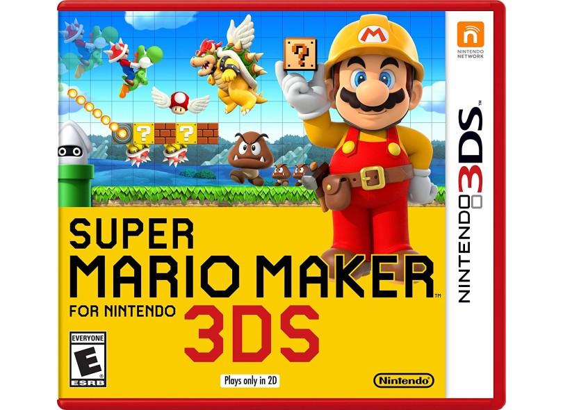 Jogo Super Mario Maker Nintendo Nintendo 3DS