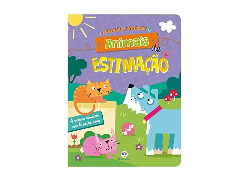 Animais de estimação - Ciranda Cultural - 9788538080770